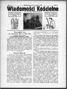 Wiadomości Kościelne dla Parafji Wąbrzeskiej 1930-1931, R.2, nr 41