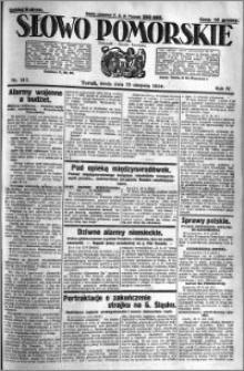 Słowo Pomorskie 1924.08.13 R.4 nr 187