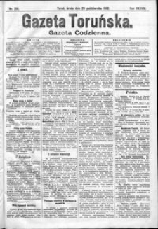 Gazeta Toruńska 1902, R. 38 nr 252