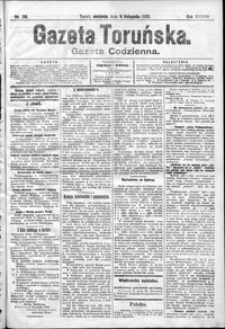 Gazeta Toruńska 1902, R. 38 nr 261 + dodatek