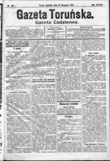Gazeta Toruńska 1902, R. 38 nr 267 + dodatek