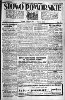 Słowo Pomorskie 1924.08.21 R.4 nr 193