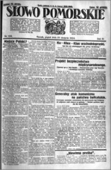 Słowo Pomorskie 1924.08.22 R.4 nr 194