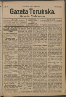 Gazeta Toruńska 1903, R. 39 nr 119