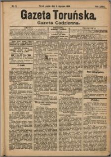 Gazeta Toruńska 1904, R. 40 nr 5