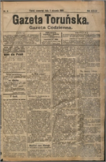 Gazeta Toruńska 1905, R. 41 nr 4