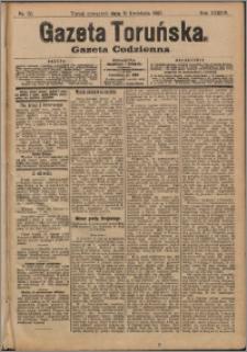 Gazeta Toruńska 1907, R. 43 nr 88