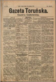 Gazeta Toruńska 1905, R. 41 nr 192