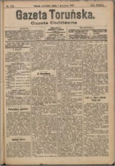 Gazeta Toruńska 1907, R. 43 nr 278