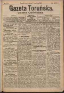 Gazeta Toruńska 1907, R. 43 nr 279