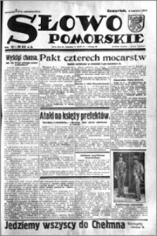 Słowo Pomorskie 1933.06.01 R.13 nr 125
