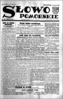 Słowo Pomorskie 1933.08.17 R.13 nr 187