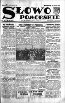 Słowo Pomorskie 1933.08.27 R.13 nr 196