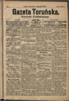 Gazeta Toruńska 1908, R. 44 nr 5