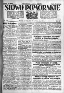 Słowo Pomorskie 1924.10.16 R.4 nr 241