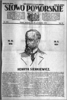 Słowo Pomorskie 1924.10.26 R.4 nr 250