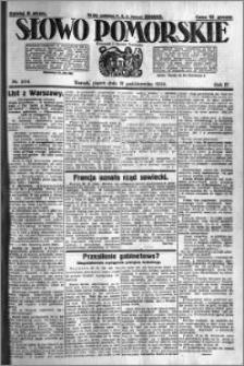 Słowo Pomorskie 1924.10.31 R.4 nr 254