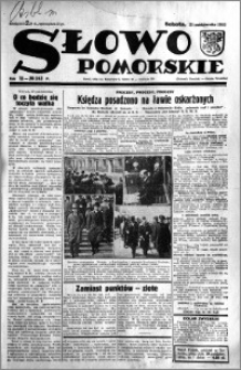 Słowo Pomorskie 1933.10.21 R.13 nr 243