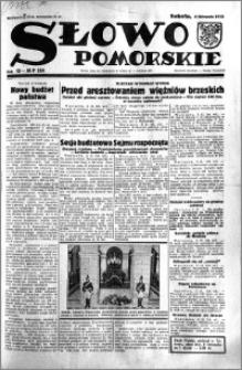 Słowo Pomorskie 1933.11.04 R.13 nr 254