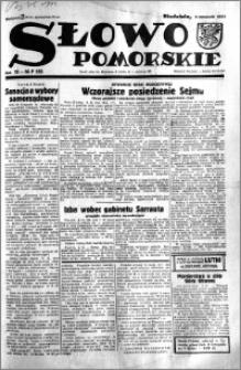 Słowo Pomorskie 1933.11.05 R.13 nr 255