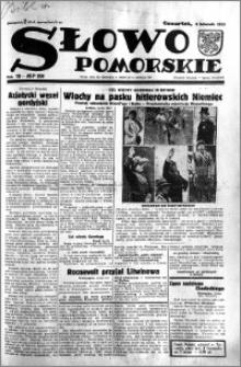 Słowo Pomorskie 1933.11.09 R.13 nr 258