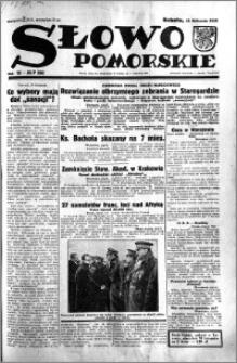 Słowo Pomorskie 1933.11.11 R.13 nr 260