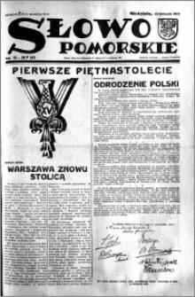 Słowo Pomorskie 1933.11.12 R.13 nr 261