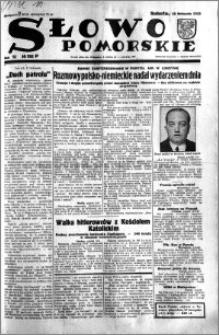 Słowo Pomorskie 1933.11.18 R.13 nr 266