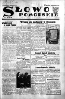 Słowo Pomorskie 1933.11.21 R.13 nr 268