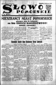 Słowo Pomorskie 1933.11.25 R.13 nr 272