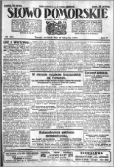 Słowo Pomorskie 1924.11.16 R.4 nr 267