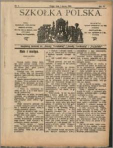 Szkółka Polska 1908 nr 5