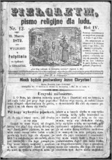 Pielgrzym, pismo religijne dla ludu 1872 nr 12