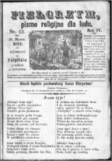 Pielgrzym, pismo religijne dla ludu 1872 nr 13