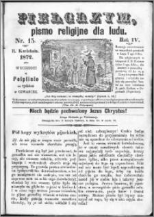 Pielgrzym, pismo religijne dla ludu 1872 nr 15