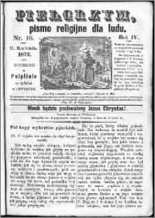 Pielgrzym, pismo religijne dla ludu 1872 nr 16