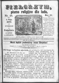 Pielgrzym, pismo religijne dla ludu 1872 nr 18