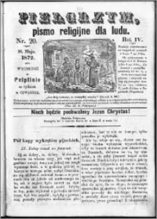 Pielgrzym, pismo religijne dla ludu 1872 nr 20