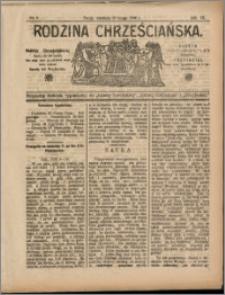 Rodzina Chrześciańska 1908 nr 8