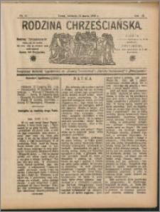 Rodzina Chrześciańska 1908 nr 11