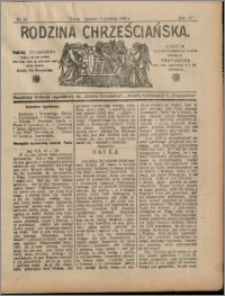 Rodzina Chrześciańska 1908 nr 14