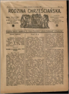 Rodzina Chrześciańska 1908 nr 15
