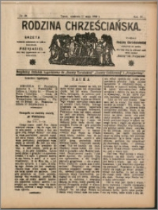 Rodzina Chrześciańska 1908 nr 20