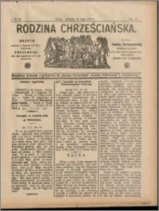 Rodzina Chrześciańska 1908 nr 21