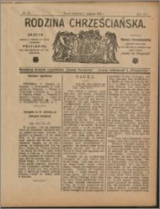Rodzina Chrześciańska 1908 nr 32