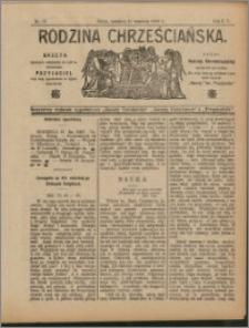 Rodzina Chrześciańska 1908 nr 37