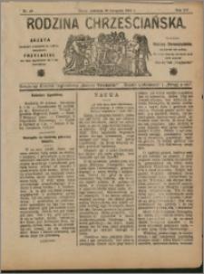 Rodzina Chrześciańska 1908 nr 48