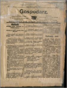 Gospodarz 1908 nr 1