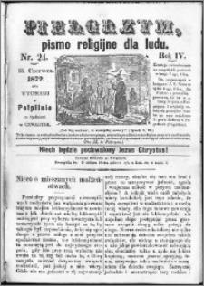 Pielgrzym, pismo religijne dla ludu 1872 nr 24