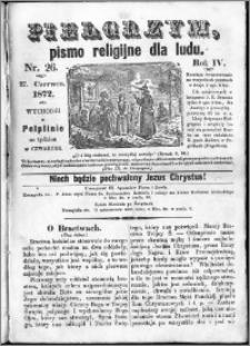 Pielgrzym, pismo religijne dla ludu 1872 nr 26